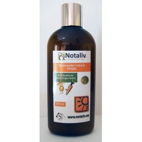 Natural tanning lotion. 250 ml