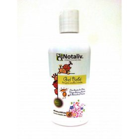 Natural baby gel with sweet almond oil and extra virgin olive oil. 400 ml.