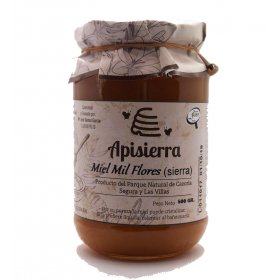 Mixed-flower honey